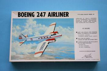 1 72 Boing 247 - 1/72 Boeing 247