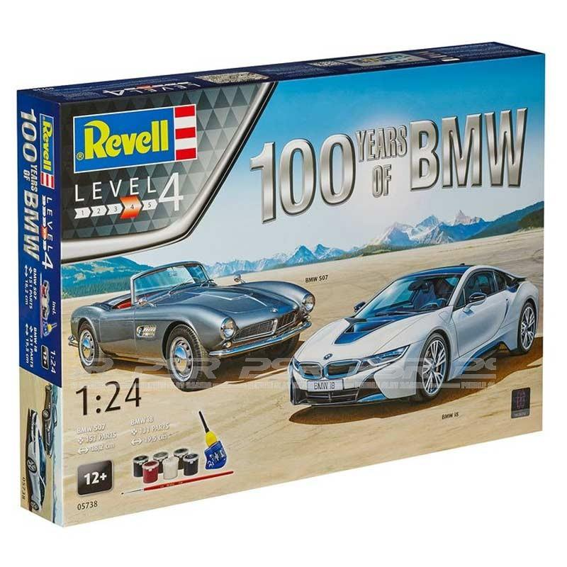Revell Gift 100 Years BMW 1 24 - Revell Gift-s?t 100 Years BMW 1/24