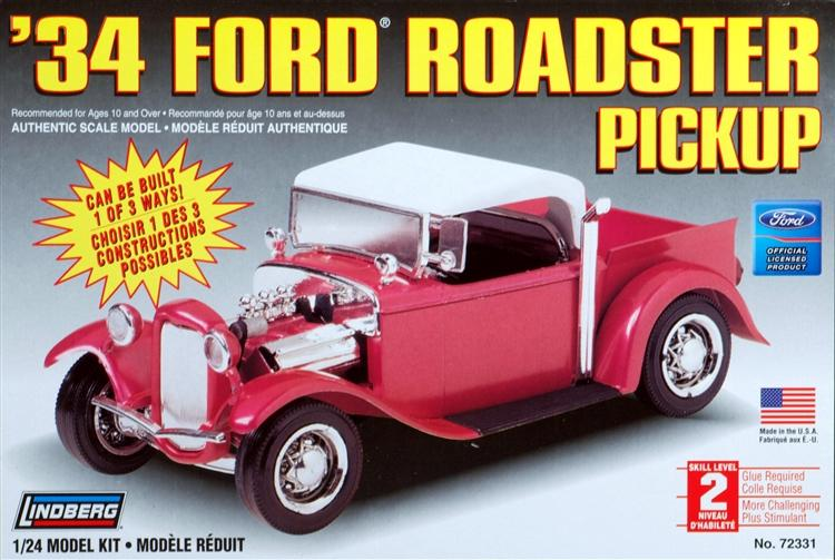 1/24 '34 Ford Roadster Pick Up